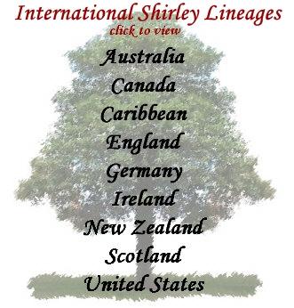 Shirley Association Genealogical Research Website