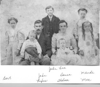 John Milton family